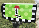 Christmas Stocking Vinyl Mailbox Cover
