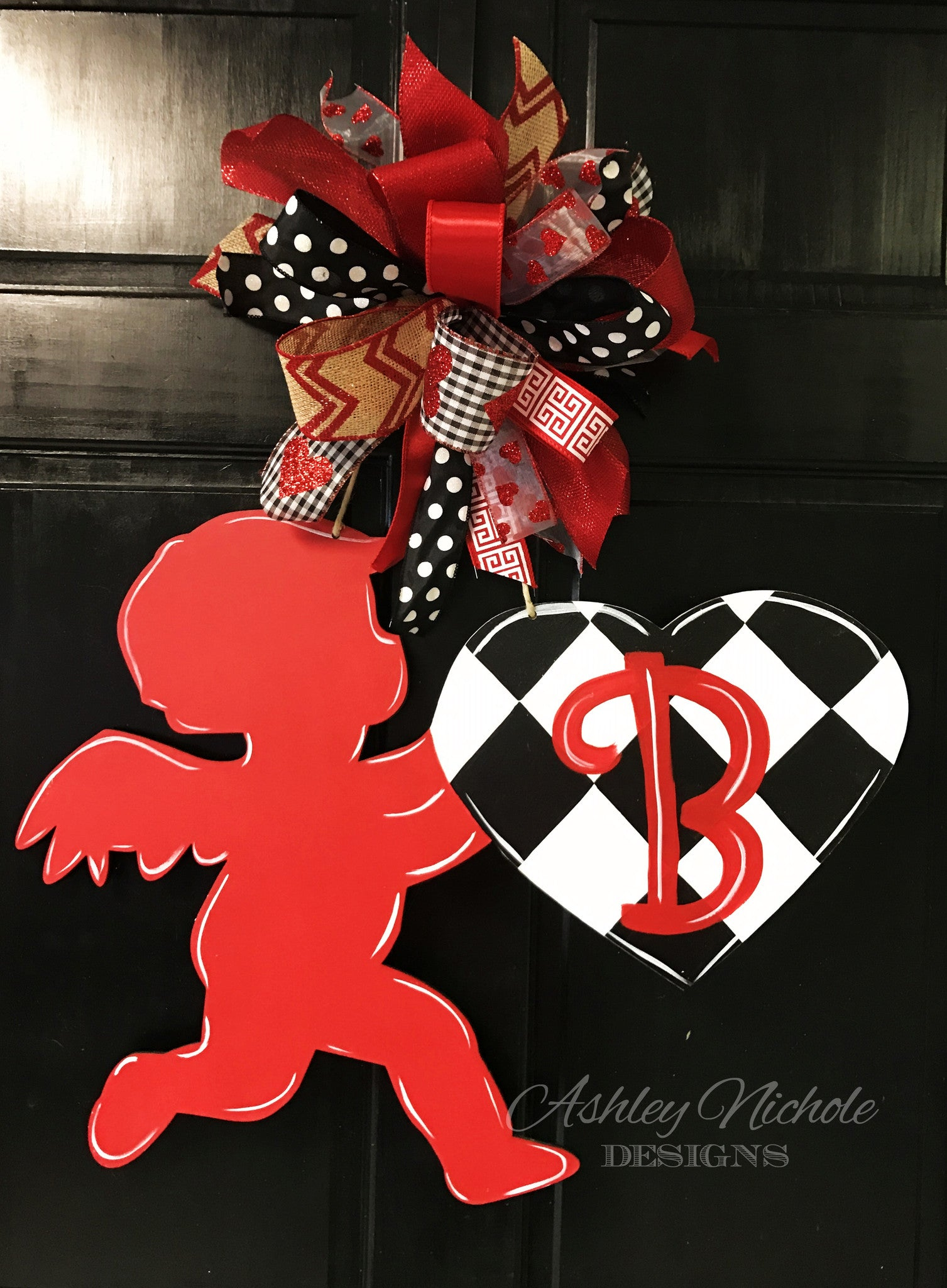 Cupid Valentine Door Hanger