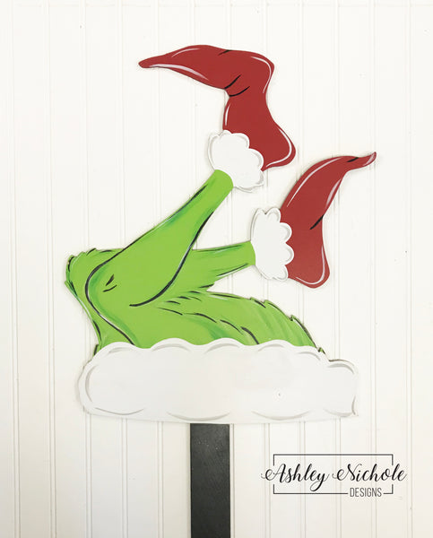 Tree Topper or Tree DECOR - Grinch Inspired Legs
