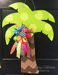 Palm Tree Door Hanger