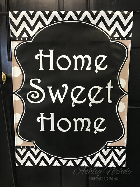 Home Sweet Home Garden Vinyl Flag