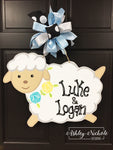 Sweet Lamb - Door Hanger