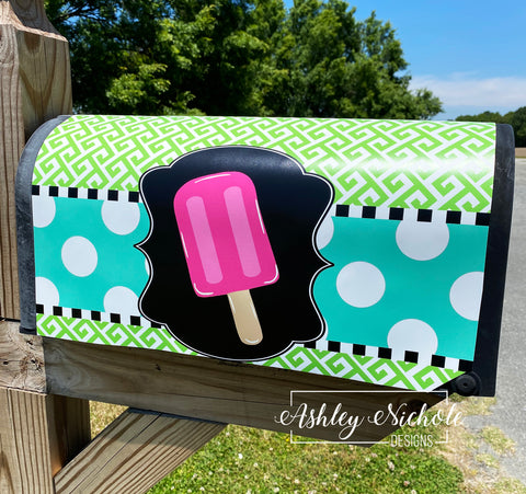 Popsicle Magnetic Mailbox Cover