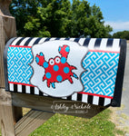 Funky Crab Magnetic Mailbox Cover