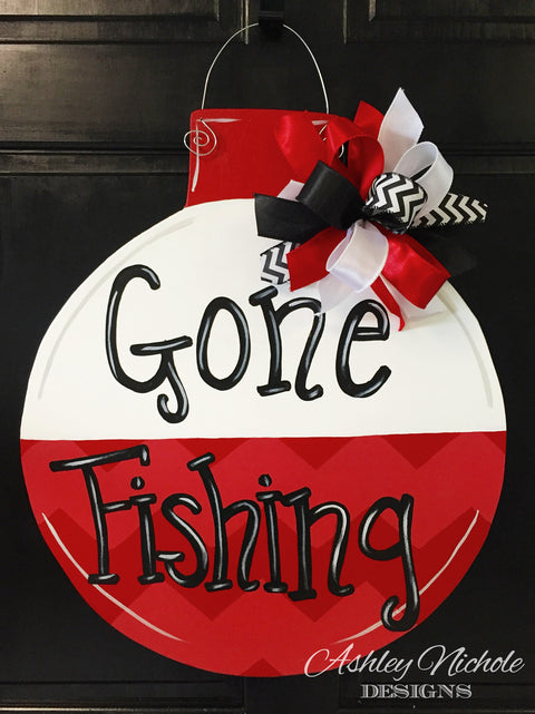 Fishing Bobber Door Hanger