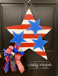 Stars and Stripes Door Hanger