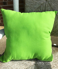 "18"" Outdoor Pillow-Lime Green"