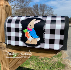 Peter Rabbit & Egg Mailbox Cover