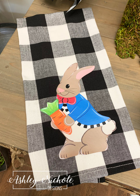Peter Rabbit-Buffalo Check Dish Towels