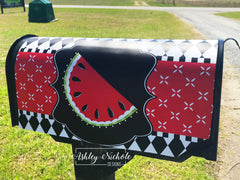 Watermelon Red Magnetic Mailbox Cover