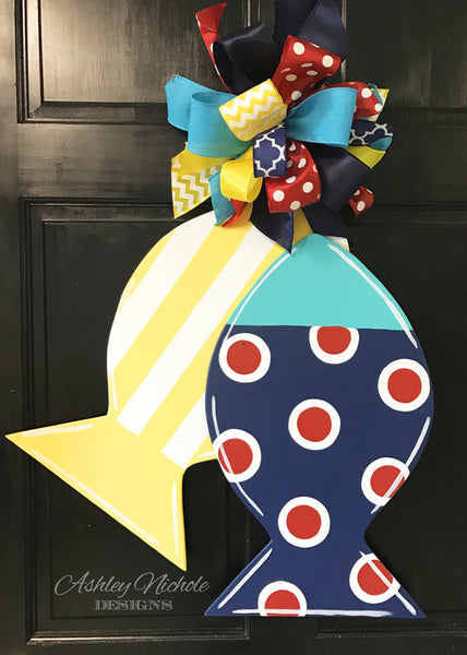 Fishy-Fishy Door Hanger