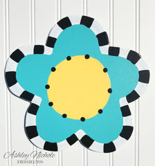 Sassy Flower-Turquoise Attachment