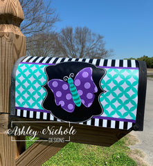 Butterfly Magnetic Mailbox Cover