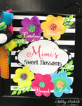 Blossoms Flower Family Garden Vinyl Flag