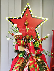 Tree Topper - Wooden Star