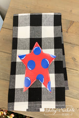 Star-Buffalo Check Dish Towels