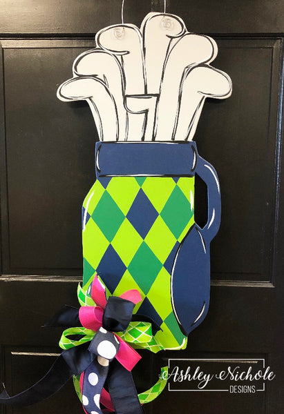 Golf Bag Door Hanger