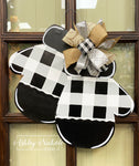Mittens - BUFFALO CHECK - Door Hanger