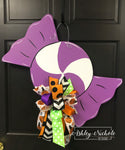 Halloween Swirl Candy Door Hanger