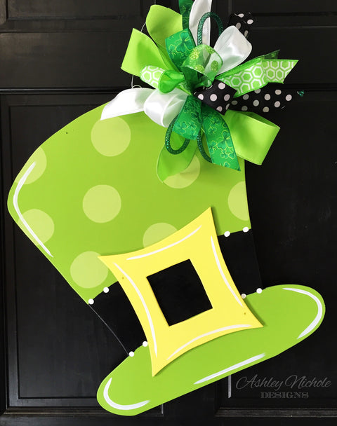 St. Patrick's Day Hat Door Hanger