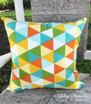 "18"" Outdoor Pillow-Sunsplash"