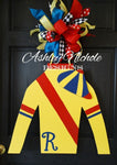 Jockey Silk Door Hanger