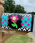 Large Flower Magnetic Mailbox Cover