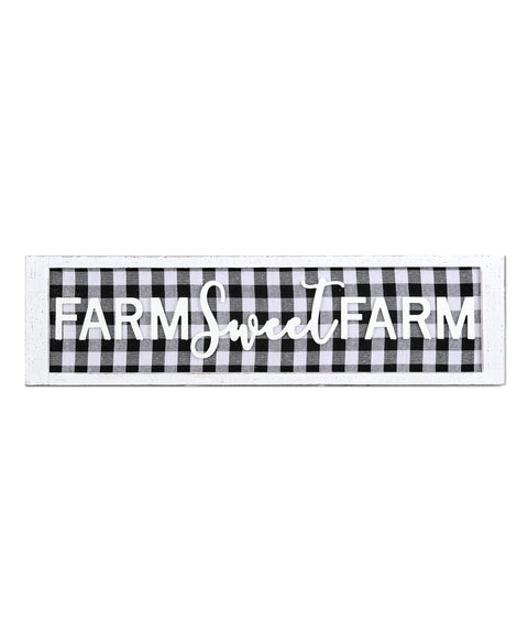 Farm Sweet Farm Sign 32""