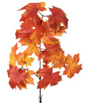"Pick - Jumbo Maple Leaf Spray 38"" ~ Orange Color"