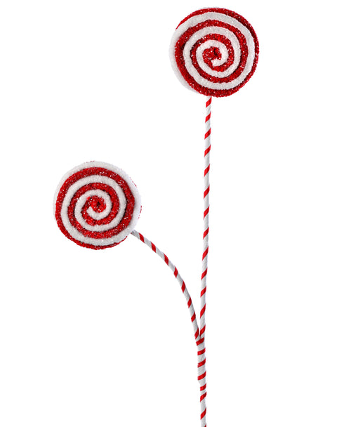 Pick - Frosted Felt Lollipop 24""