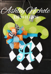 Pineapple-Medium - Harlequin Door Hanger