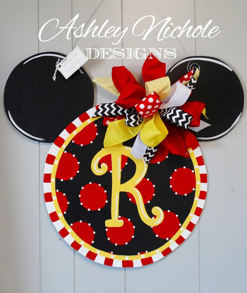 Disney - Mickey Mouse Inspired Door Hanger