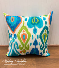 "18"" Outdoor Pillow-Paso Caribe"