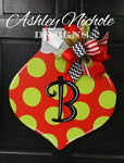Ornament - Polka Dot - Door Hanger