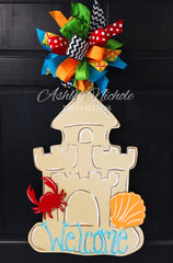 Sand Castle Door Hanger