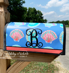 Seashell Mailbox Cover