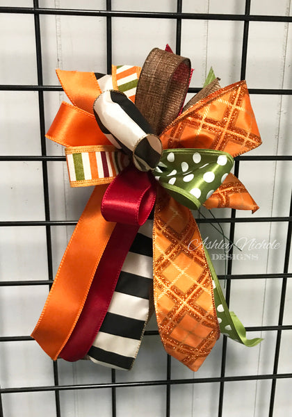 Fall-Bow - Small Streamer - Elegant FALL