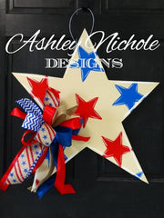 Star-Neutral Tones-Door Hanger