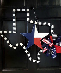 Texas-Lone Star Door Hanger