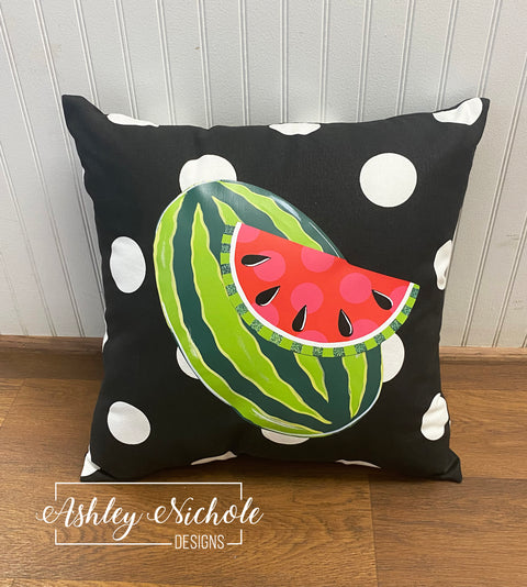 "18"" Custom-Whole Watermelon Pillow"