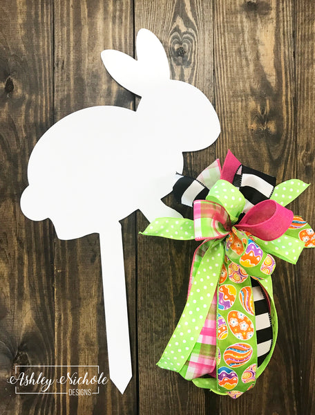 Bunny with Initial Stake - ACM Material
