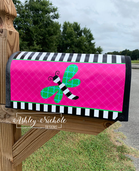 Dragonfly Magnetic Mailbox Cover