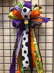 Halloween Bow - XL-Large Streamer