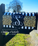 Leopard Print Magnetic Mailbox Cover