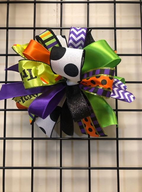 Halloween Bow-Medium Puff