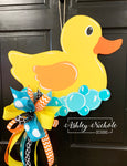 Rubber Duckie Door Hanger