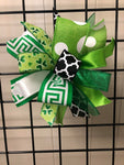 Saint Patricks Day-Bow-Small Puff