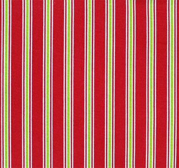 "18"" Outdoor Pillow-Christmas Stripes"