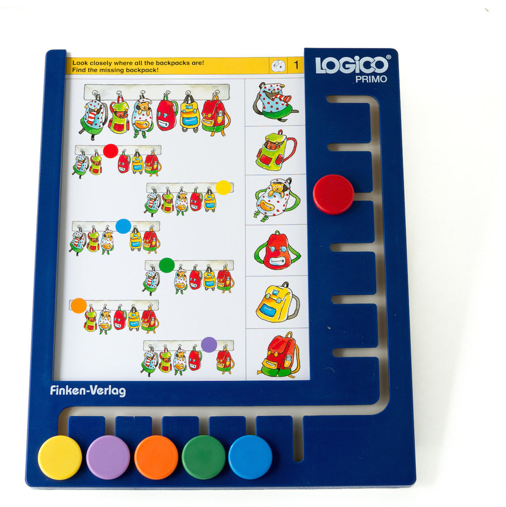 Logico Primo Board - Learning Game System (3-6 year olds)