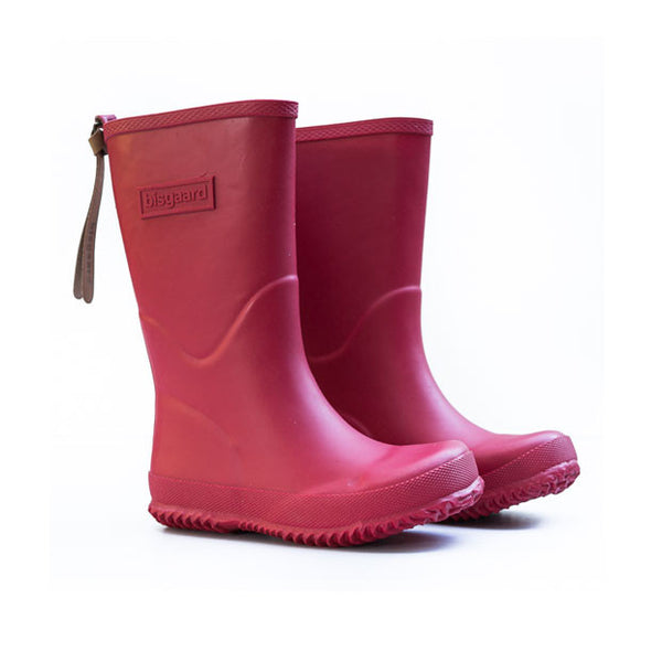 Comfortable gumboots for kids, red.